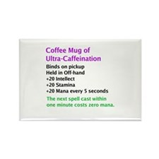 Epic Coffee Mug Rectangle Magnet