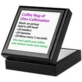 Epic Coffee Mug Keepsake Box