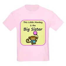 This little monkey is the big T-Shirt