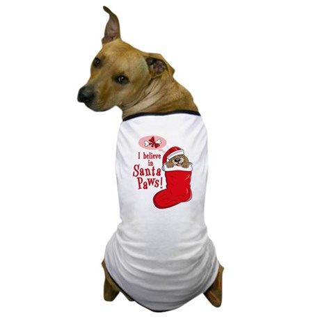 Santa Paws Puppy Dog T-Shirt