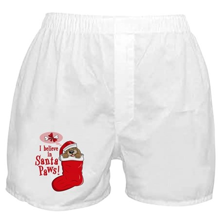 Santa Paws Puppy Boxer Shorts