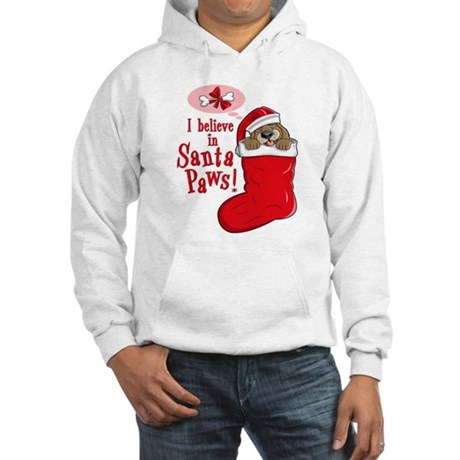 Santa Paws Puppy Hooded Sweatshirt