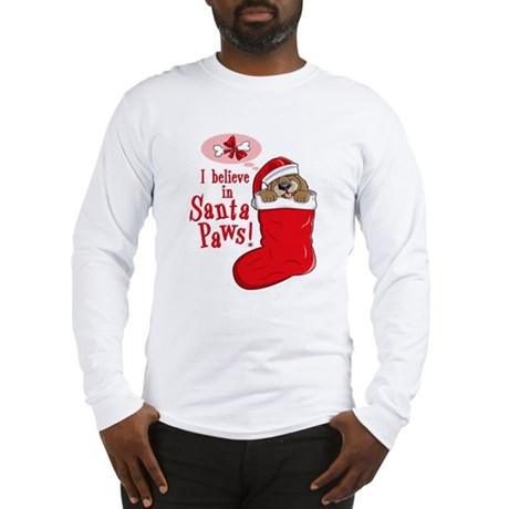 Santa Paws Puppy Long Sleeve T-Shirt