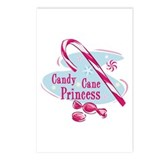 Candy Cane Princess Postcards (Package of 8)