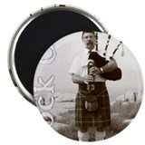 "Rock On Bagpipes 2.25"" Magnet (10 pack)"