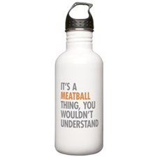 Meatball Thing Water Bottle