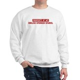 Property of English Springer  Sweatshirt