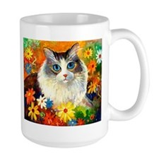 tabby kitty cat Mug