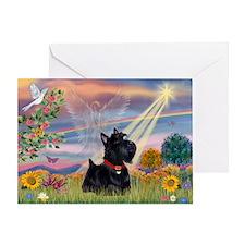 Cloud Angel & Scotty Greeting Card