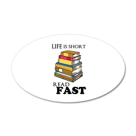 Read Fast Wall Decal