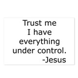 Trust Me... Jesus Postcards (Package of 8)