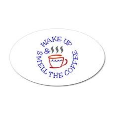 Wake Up Coffee Wall Decal
