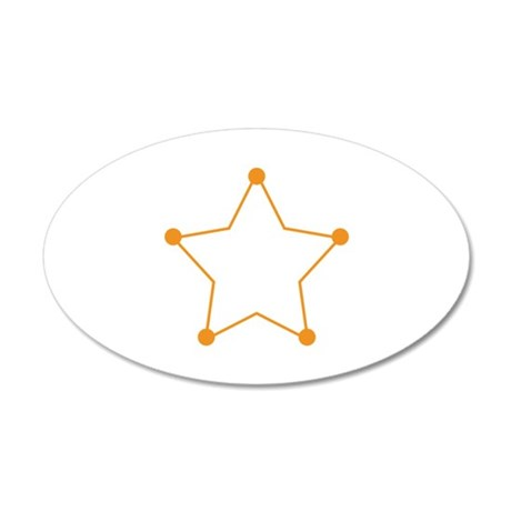 Badge Outline Wall Decal