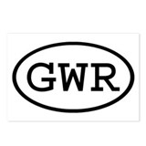 GWR Oval Postcards (Package of 8)