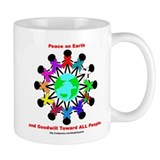 Peace On Earth Small Mug