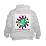 Peace On Earth (backprint) Sweatshirt