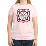 Fire Department Maltese Cross T-Shirt