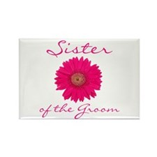Groom's Sister Rectangle Magnet