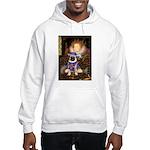 The Queen & Sir Pug Hooded Sweatshirt
