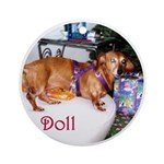 Dollie Ornament (Round)
