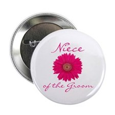 Groom's Niece Button