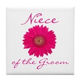 Groom's Niece Tile Coaster