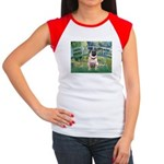 Bridge / Pug Women's Cap Sleeve T-Shirt