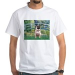 Bridge / Pug White T-Shirt