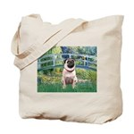 Bridge / Pug Tote Bag