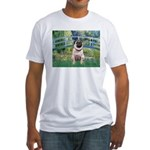 Bridge / Pug Fitted T-Shirt