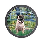 Bridge / Pug Wall Clock