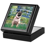 Bridge / Pug Keepsake Box