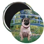 Bridge / Pug Magnet