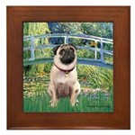 Bridge / Pug Framed Tile
