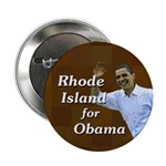 Rhode Island for Obama button
