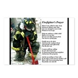 Old Version Firefighter Prayer Postcards (Package