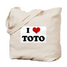 I Love TOTO Tote Bag