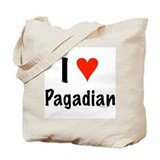 I love Pagadian Tote Bag