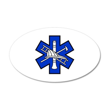Fire and EMS Logo Wall Decal