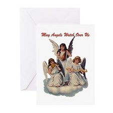 Angels Watch Over Us Greeting Cards (Pk of 10)