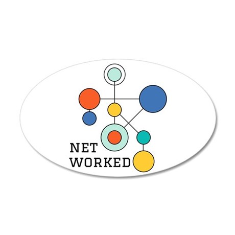 Net Worked Wall Decal
