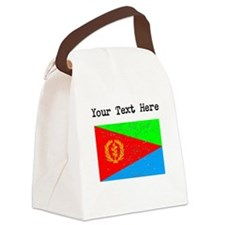 Eritrea Flag (Distressed) Canvas Lunch Bag