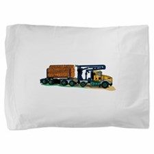Logging Truck Pillow Sham
