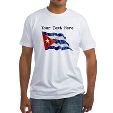 Cuba Flag (Distressed) T-Shirt