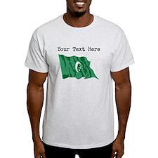 Comoros Flag (Distressed) T-Shirt