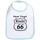 Never Forget Rt 66 Bib