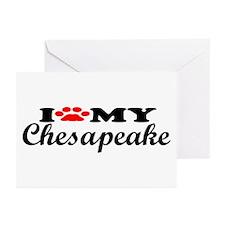 Chesapeake - I Love My Greeting Cards (Pk of 10)
