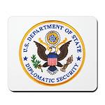 Diplomatic Security Mousepad