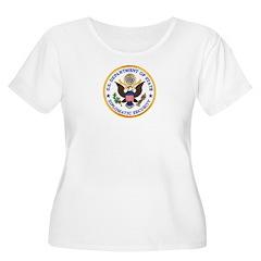 Diplomatic Security Women's Plus Size Scoop Neck T