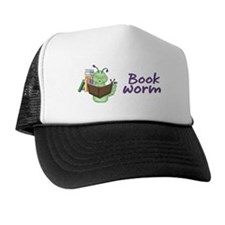 Reading Bookworm Trucker Hat
